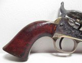 FINE ANTIQUE FIREARMS From COLLECTING TEXAS – COLT MODEL POCKET NAVY CONVERSION ENGRAVED - 3 of 23