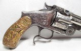 FINE ANTIQUE FIREARMS From COLLECTING TEXAS – WEXEL & DEGRESS WINCHESTER 66 & VERY EARLY 3rd MODEL RUSSIAN ENGRAVED - 15 of 25