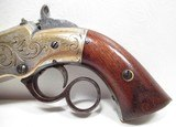 FINE ANTIQUE FIREARMS From COLLECTING TEXAS – ENGRAVED NEW HAVEN ARMS VOLCANIC PISTOL - 2 of 17