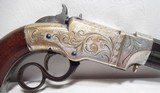 FINE ANTIQUE FIREARMS From COLLECTING TEXAS – ENGRAVED NEW HAVEN ARMS VOLCANIC PISTOL - 7 of 17