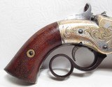 FINE ANTIQUE FIREARMS From COLLECTING TEXAS – ENGRAVED NEW HAVEN ARMS VOLCANIC PISTOL - 6 of 17