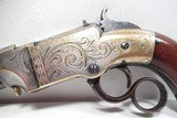 FINE ANTIQUE FIREARMS From COLLECTING TEXAS – ENGRAVED NEW HAVEN ARMS VOLCANIC PISTOL - 3 of 17