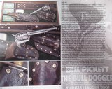 101 RANCH & BILL PICKETT HISTORY COLT SAA 45 from COLLECTING TEXAS - 24 of 25