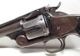 FINE ANTIQUE S&W REVOLVER from COLLECTING TEXAS – S&W No.3 TARGET – MADE 1887 – Serial No. 726 - 5 of 15