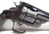 NICE ANTIQUE REVOLVER 44-40 CAL. S&W from COLLECTING TEXAS – S&W 44 DOUBLE ACTION FRONTIER EARLY 2-LINE PAT. DATES - 7 of 17