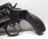 NICE ANTIQUE REVOLVER 44-40 CAL. S&W from COLLECTING TEXAS – S&W 44 DOUBLE ACTION FRONTIER EARLY 2-LINE PAT. DATES - 2 of 17