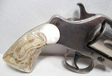 """OUTSTANDING RARE ANTIQUE COLT DOUBLE ACTION REVOLVER from COLLECTING TEXAS – RARE COLT MODEL 1889 NAVY REVOLVER with FACTORY NICKEL 3"""" BARREL - 2 of 21"""