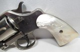 """OUTSTANDING RARE ANTIQUE COLT DOUBLE ACTION REVOLVER from COLLECTING TEXAS – RARE COLT MODEL 1889 NAVY REVOLVER with FACTORY NICKEL 3"""" BARREL - 6 of 21"""