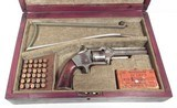 RARE ANTIQUE SMITH & WESSON No.2 OLD ARMY from COLLECTING TEXAS – CASED POST CIVIL WAR S&W No.2 OLD ARMY with SHOULDER STOCK