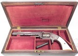 FINE ANTIQUE FIREARMS From COLLECTING TEXAS – SMITH & WESSON No.2 OLD ARMY REVOLVER – L.D. NIMSCKE ENGRAVED