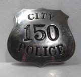 Rare Identified San Antonio Police Dept. Badge – 1914