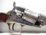 FINE ANTIQUE COLT MODEL POCKET NAVY CONVERSION from COLLECTING TEXAS – ENGRAVED with HOLSTER - 4 of 23
