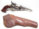 FINE ANTIQUE COLT MODEL POCKET NAVY CONVERSION from COLLECTING TEXAS – ENGRAVED with HOLSTER - 1 of 23