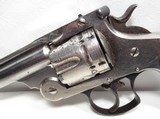 NICE ANTIQUE REVOLVER 44 S&W CARTRIDGE from COLLECTING TEXAS – VERY LATE PRODUCTION 44 D.A. FIRST MODEL - 3 of 18