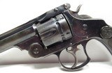 NICE ANTIQUE REVOLVER 44-40 CAL. S&W from COLLECTING TEXAS – S&W 44 DOUBLE ACTION FRONTIER EARLY 2-LINE PAT. DATES - 3 of 17