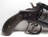 NICE ANTIQUE REVOLVER 44-40 CAL. S&W from COLLECTING TEXAS – S&W 44 DOUBLE ACTION FRONTIER EARLY 2-LINE PAT. DATES - 6 of 17