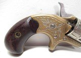 ANTIQUE COLT NEW LINE .22 CALIBER REVOLVER from COLLECTING TEXAS – MADE 1876 – FACTORY ENGRAVED - 5 of 15