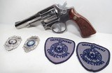 """SMITH & WESSON MODEL 65-2 REVOLVER MARKED """"TDC 61265"""" (TX DEPT. of CORRECTIONS) from COLLECTING TEXAS – 357 MAGNUM SHIPPED TO HUNTSVILLE, TX - 1 of 20"""