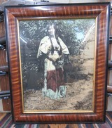 HAND TINTED FRAMED PHOTOGRAPH by KARL MOON from COLLECTING TEXAS