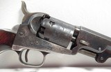 """FINE REVERSED CASED ANTIQUE COLT 1849 POCKET MODEL from COLLECTING TEXAS – HIGH CONDITION 6"""" BARREL 1849 POCKET MODEL IN REVERSED CASE w/ ACCESSORIES - 4 of 24"""