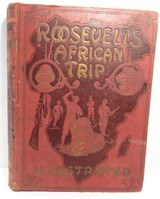 ROOSEVELT'S AFRICAN TRIP - ILLUSTRATED from COLLECTING TEXAS – COPYRIGHT 1909 by W.E. SCULL - 1 of 5