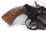 RARE TWO-TONE BLUE DETECTIVE SPECIAL REVOLVER from COLLECTING TEXAS – MADE 1949 – LIKE NEW CONDITION - 2 of 15