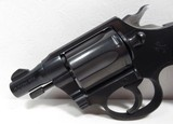 RARE TWO-TONE BLUE DETECTIVE SPECIAL REVOLVER from COLLECTING TEXAS – MADE 1949 – LIKE NEW CONDITION - 6 of 15