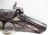 "ORIGINAL HENRY DERINGER – CIVIL WAR ERA from COLLECTING TEXAS - .45 CAL. WITH 2 1/2"" BARREL – CIRCA 1860 - 4 of 15"