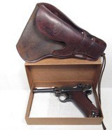 VERY RARE HIGH CONDITION 1906 AMERICAN EAGLE 9mm LUGER from COLLECTING TEXAS – OKLAHOMA COWBOY LUGER
