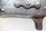 RARE REMINGTON 1866 ROLLING BLOCK IVORY STOCKED and ENGRAVED PISTOL from COLLECTING TEXAS - 4 of 23