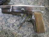 Browning Hi Power Silver Chrome