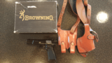 Browning High Power 9mm pistol