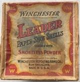 Winchester - Leader Paper Shot Shells - 10 Gauge