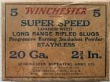"Winchester 20 Gauge - Super Speed 2 3/4"" - 5 Count"