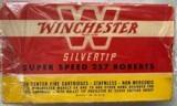 Winchester .257 Roberts Super Speed - Silvertip Center Fire 100 Grain