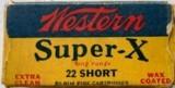 western super x 22 short
