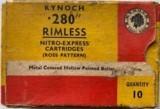 kynoch .280 rimless ross pattern