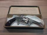 mint unfired S&W .38 cal 2nd model no 2spur trigger revolver - 2 of 5