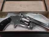 mint unfired S&W .38 cal 2nd model no 2spur trigger revolver - 1 of 5
