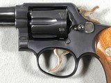 SMITH & WESSON .38 MILITARY & POLICE (PRE-MODEL 10) .38 SPECIAL - 8 of 17