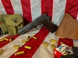 Colt 1911A1 - 1941 with Holster and Belt