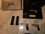 CZ 75 Champion 9mm pistol