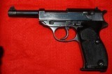 """Walther P.38 """"0"""" Series Second Variation#0540 """"Notched Trigger Pistol"""""""