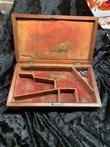 Original 1849 4- Inch Pocket Pistol Case