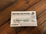 5.56mm Ammunition, 160 rounds, 62 grain FMJ, Winchester M855 Green Tip - 2 of 2