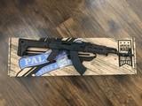 """palmetto state armory ak 47 gf3 forged """"moekov"""" rifle, plum, 7.62 x 39 (nib)"""
