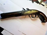 Kentucky Flintlock Pistol by Charles Bird & Co. Philedelphia, PA - 4 of 12