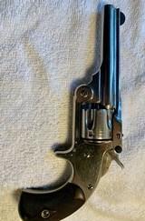 Smith & Wesson model 1 1/2 SA revolver in case near new! - 10 of 10