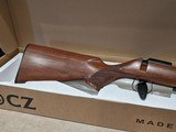 CZ 455 American Walnut .22 LR bolt-action rifle, New in Box - 3 of 9