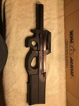 Ruger 10/22 with FN PS90 kit installed